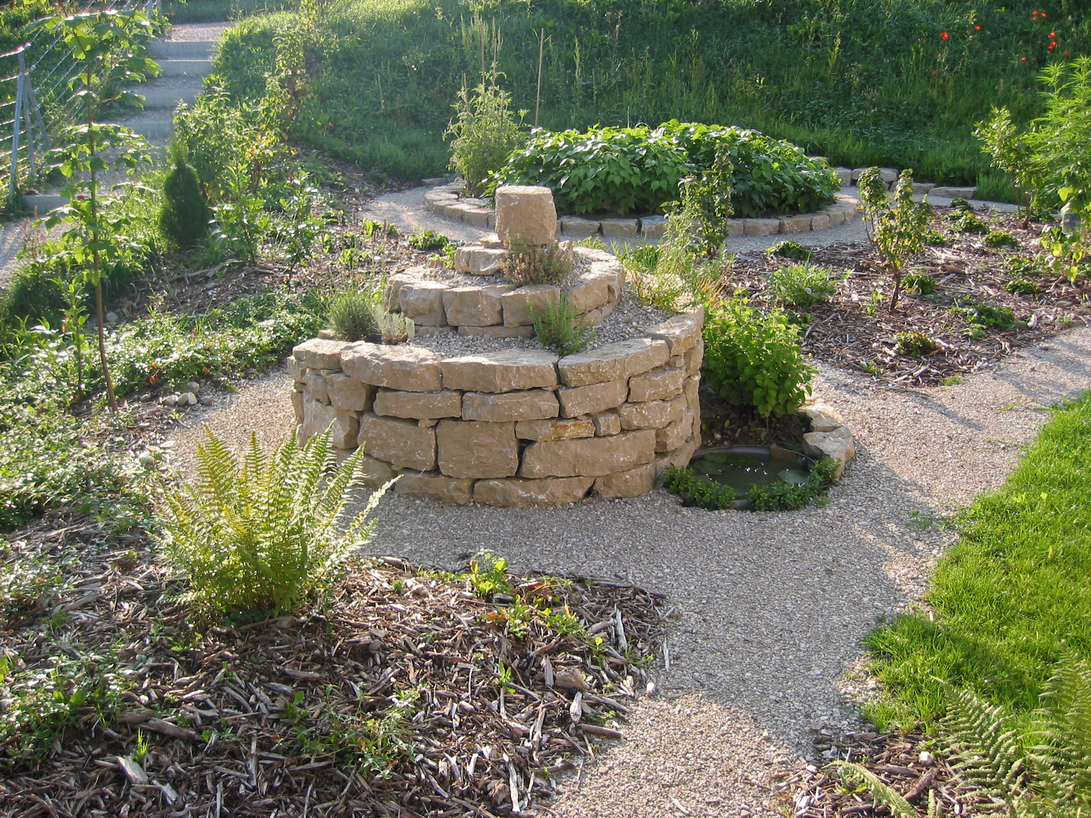 Interstein for Garten landschaftsbau